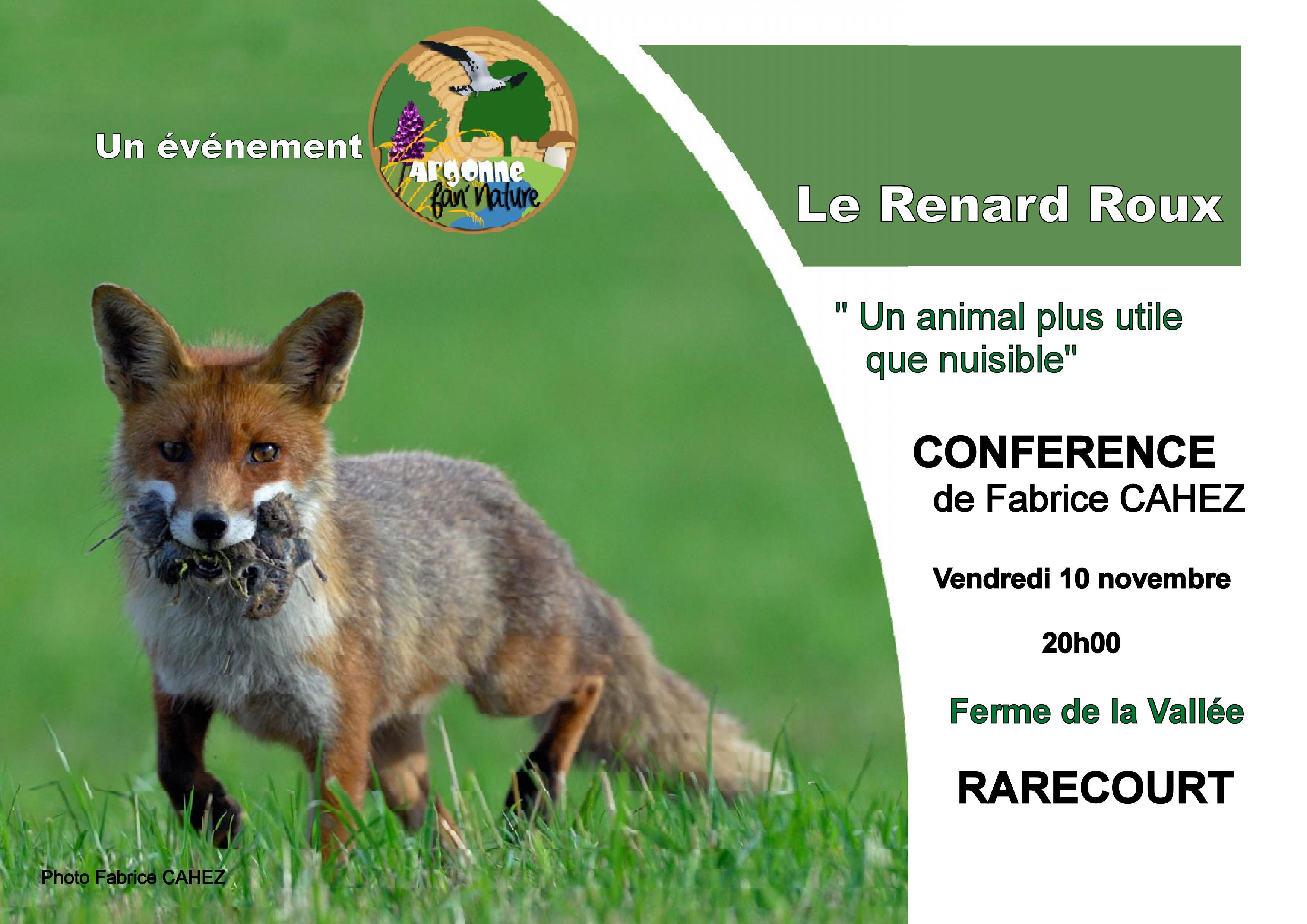 Conférence «Le Renard»